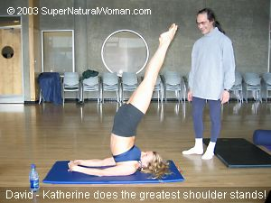 Katherine Shoulder Stand